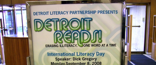 Detroit Reads Event 2008